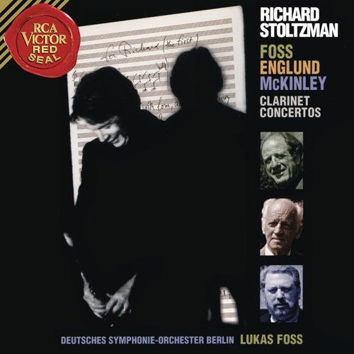 Stoltzman Plays McKinley, Englund & Foss by Richard Stoltzman