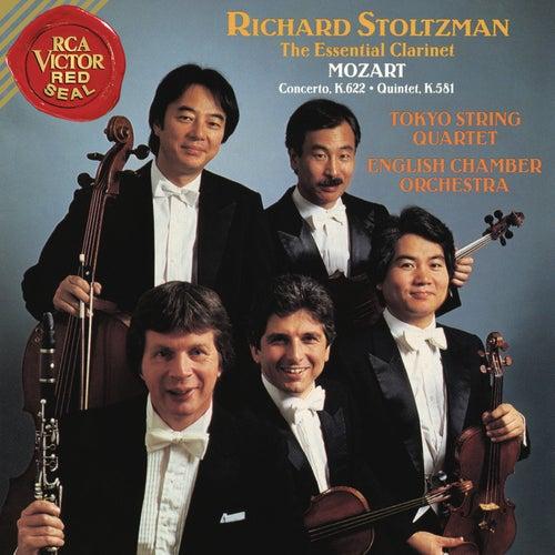 Mozart: Clarinet Concerto in A Major, K. 622 & Clarinet Quintet in A Major, K. 581 de Richard Stoltzman