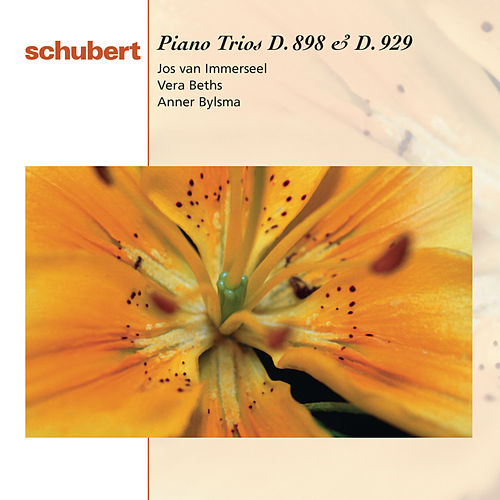 Schubert: Piano Trios D.898 & 929 by Anner Bylsma