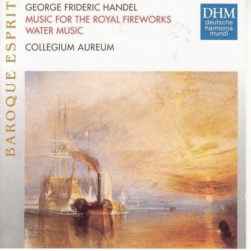 Händel: Feuerwerksmusik, Wassermusik de Collegium Aureum