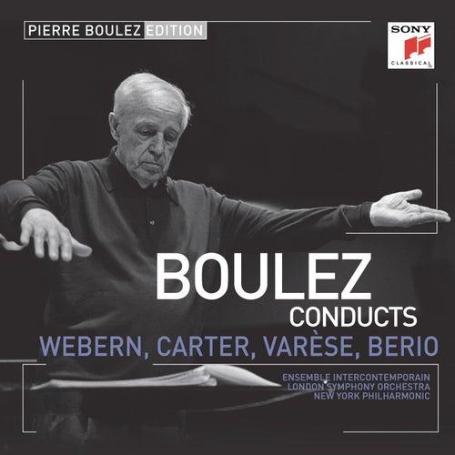 Pierre Boulez Edition: Webern, Varese & Berio de Pierre Boulez