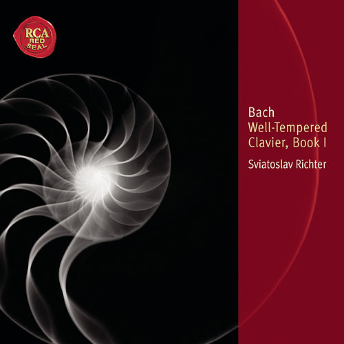 Bach: Well-Tempered Clavier Book I von Sviatoslav Richter