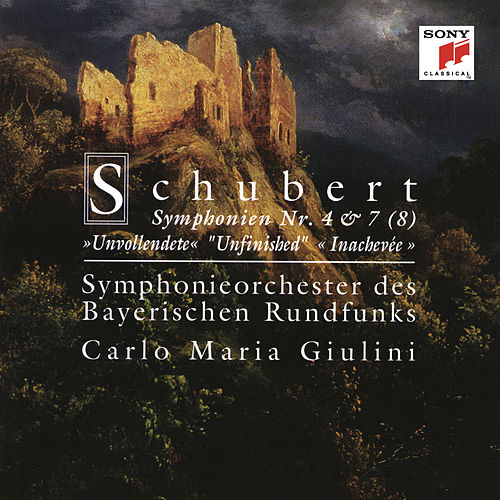 Schubert: Symphonies 4 & 7 (8) 'Unfinished' by Carlo Maria Giulini