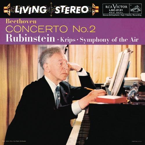 Beethoven: Piano Concerto No. 2 in B-Flat Major, Op. 19 by Arthur Rubinstein