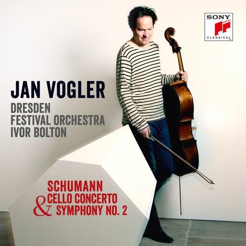 Schumann: Cello Concerto & Symphony No. 2 von Jan Vogler
