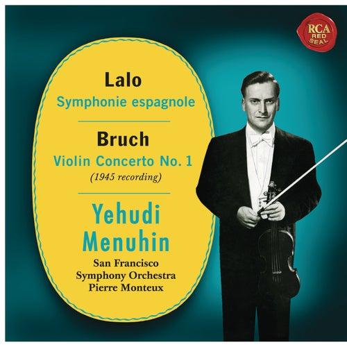 Lalo: Symphonie espagnole, Op. 21 - Bruch: Violin Concerto No. 1, Op. 26 de Yehudi Menuhin