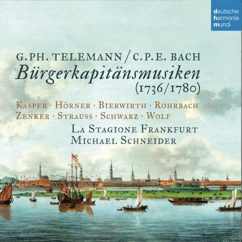 Telemann & C.P.E. Bach: Bürgerkapitänsmusiken von La Stagione Frankfurt