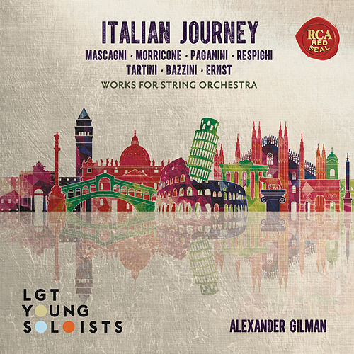 Italian Journey - Works for String Orchestra von LGT Young Soloists