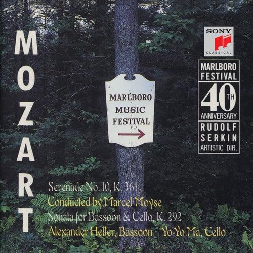 Mozart: Serenade, K. 361; Sonata for Bassoon & Cello, K. 292 (Remastered) de Yo-Yo Ma