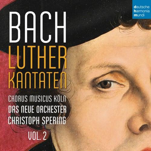 Bach: Lutherkantaten, Vol. 2 (BVW 121, 125, 14) von Christoph Spering