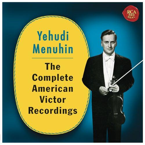 Yehudi Menuhin - The Complete American Victor Recordings de Yehudi Menuhin