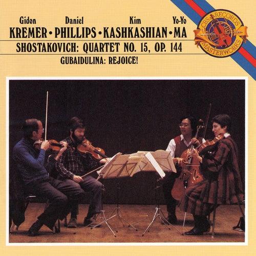 Shostakovich: Quartet No.15; Gubaidulina: Rejoice (Remastered) by Yo-Yo Ma