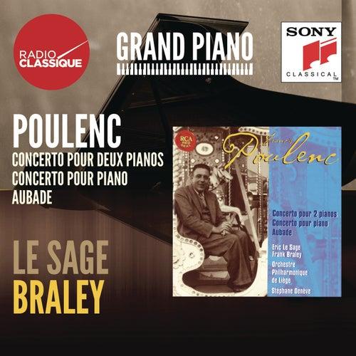 Poulenc: Concertos, Aubade - Le Sage / Braley by Stéphane Denève