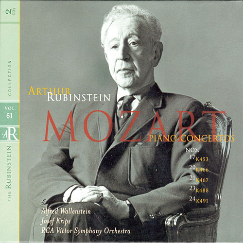 Rubinstein Collection, Vol. 61: Mozart: Piano Concertos Nos. 17, 20 21 23 24 de Arthur Rubinstein