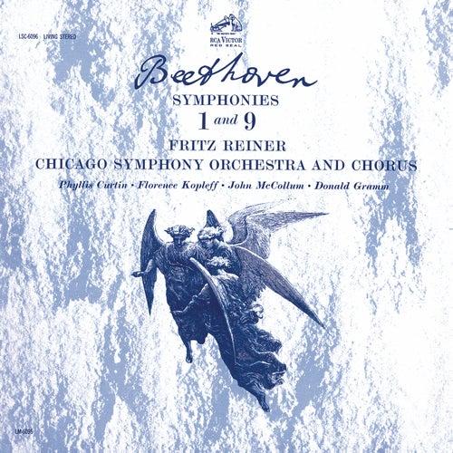 Beethoven: Symphony No. 9 in D Minor, Op. 125 'Choral' & Symphony No. 1 in C Major, Op. 21 de Fritz Reiner