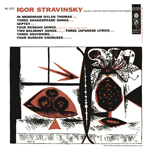 Stravinsky - Chamber Works 1911-1954 Conducted by the Composer de Igor Stravinsky