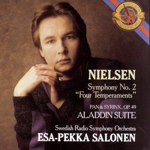 Nielsen: Symphony No. 2, Op. 16, Pan & Syrinx, Op. 49 & Aladdin Suite, Op. 34 by Esa-Pekka Salonen