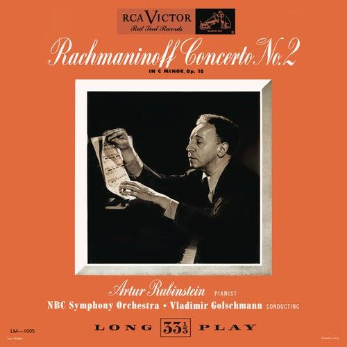 Rachmaninoff: Piano Concerto No. 2 in C Minor, Op. 18 by Arthur Rubinstein
