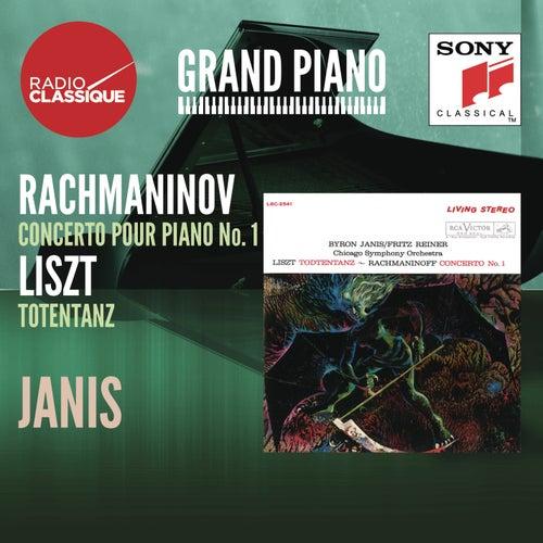Liszt: Totentanz / Rachmaninov: Concerto 1 - Janis by Byron Janis