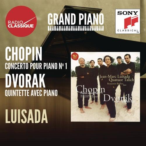 Chopin: Concerto 1 / Dvorak: Quintette - Luisada by Jean-Marc Luisada