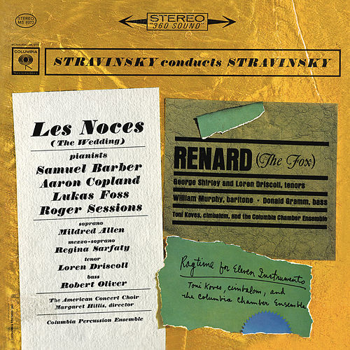 Stravinsky: Les Noces, Renard & Rag-Time von Igor Stravinsky