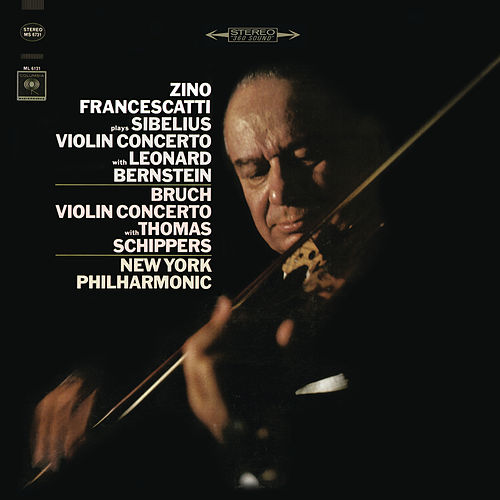 Sibelius: Concerto in D Minor for Violin and Orchestra, Op. 47 & Bruch: Concerto No. 1 in G Minor for Violin and Orchestra, Op. 26 de Zino Francescatti