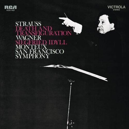 Strauss: Tod und Verklärung - Wagner: Siegfried Idyll de Pierre Monteux
