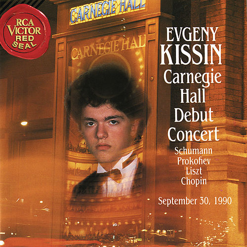 Evgeny Kissin at Carnegie Hall, New York City, September 30, 1990 von Evgeny Kissin