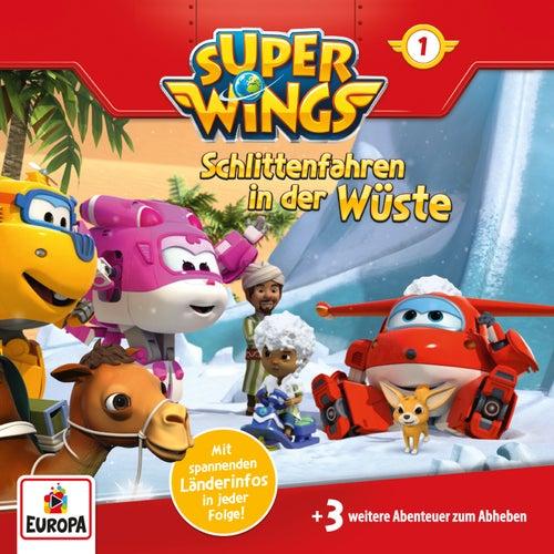 001/Schlittenfahren in der Wüste von Super Wings
