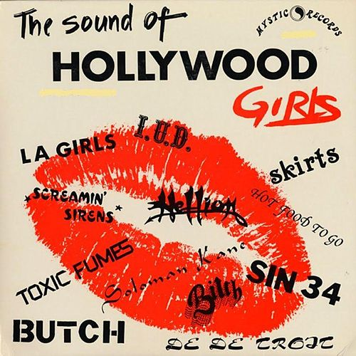 Hollywood Girls & L.A. Hardcore de Various Artists