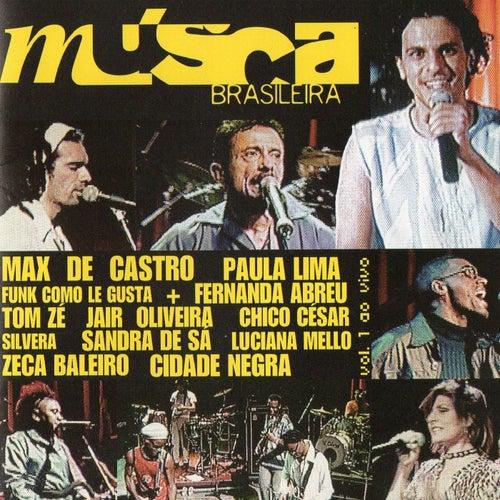 Música Brasileira, Vol. 1 (Ao Vivo) de Various Artists