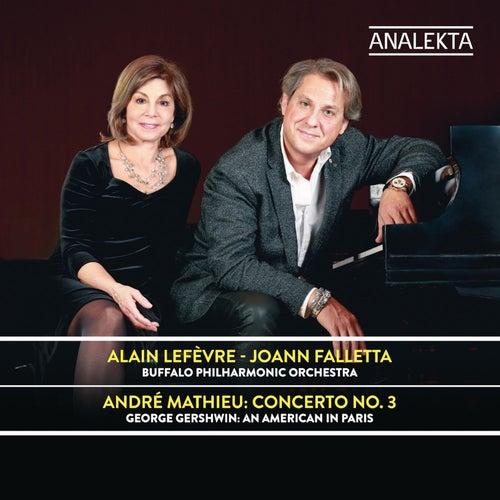 Mathieu: Concerto No. 3 / Gershwin: An American in Paris de Alain Lefèvre