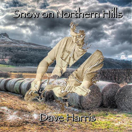 Snow on Northern Hills by David Harris