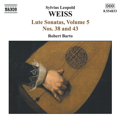 Lute Sonatas, Vol. 5 by Sylvius Leopold Weiss