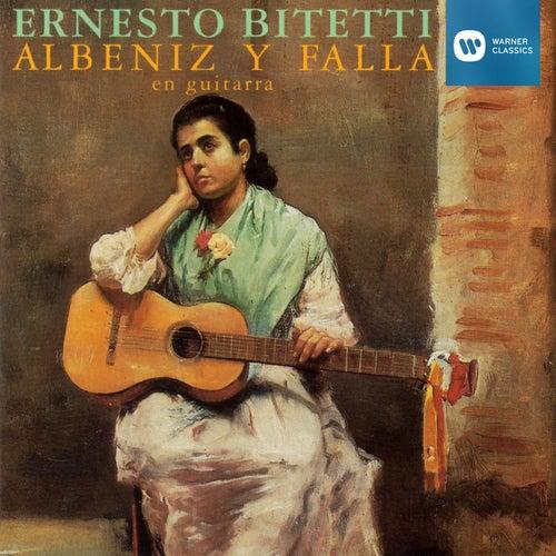 Albéniz y Falla en guitarra von ERNESTO BITETTI