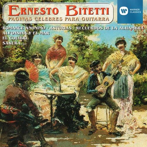Páginas Célebres para Guitarra de ERNESTO BITETTI