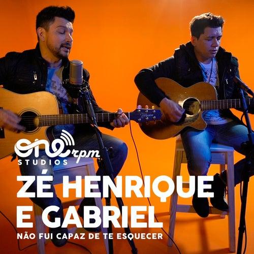 Não Fui Capaz de Te Esquecer (ONErpm Studios Mix) de Zé Henrique e Gabriel