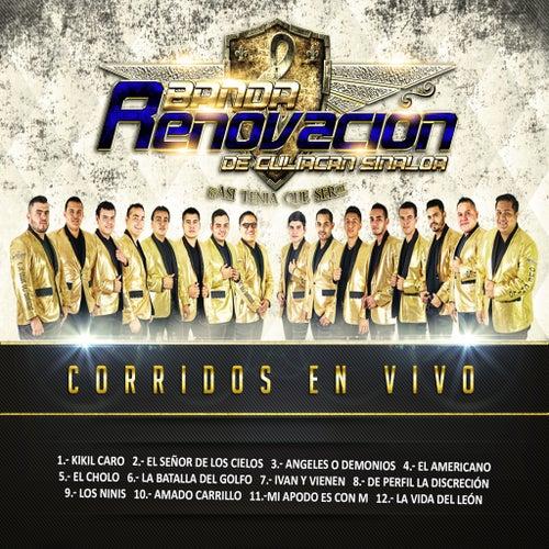 Corridos En Vivo by Banda Renovacion