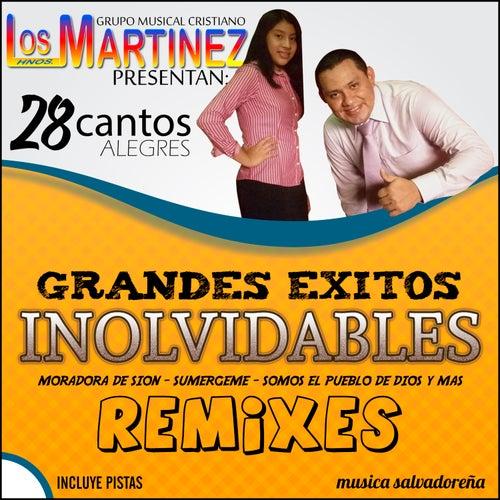 28 Grandes Exitos Inolvidables Remixes Incluye Pistas de Los Hermanos Martinez de El Salvador