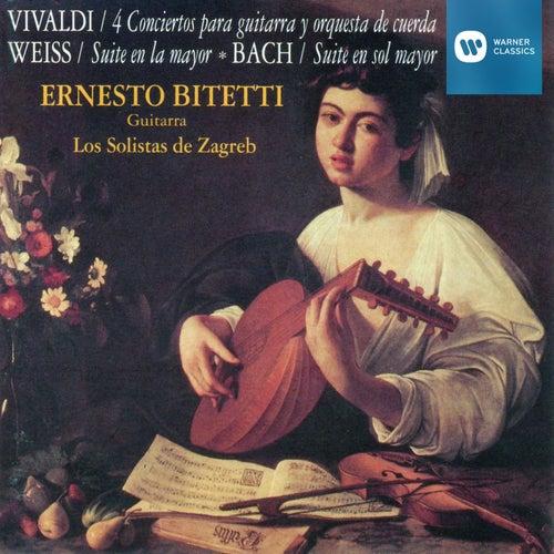 Obras de Vivaldi, Weiss, Bach de ERNESTO BITETTI