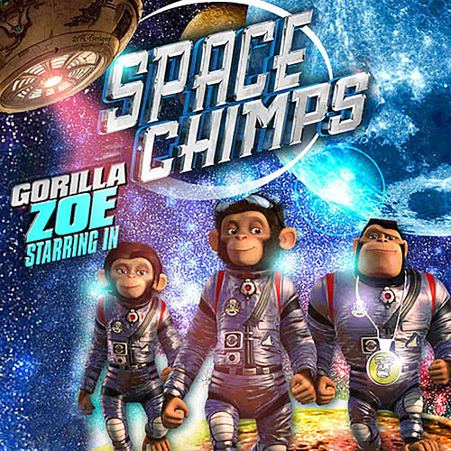Space Chimps de Gorilla Zoe