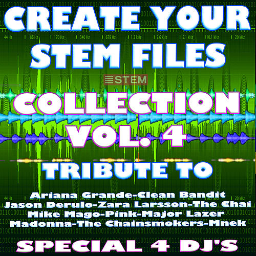 Create Your Stem Files Vol 4 ( Special Instrumental tracks with separate sounds & Remix Versions) [Tribute To The Chainsmokers-Avicii Etc..] von Express Groove