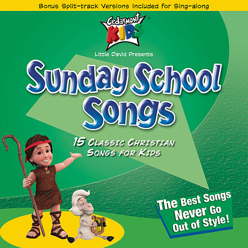 Sunday School Songs by Cedarmont Kids