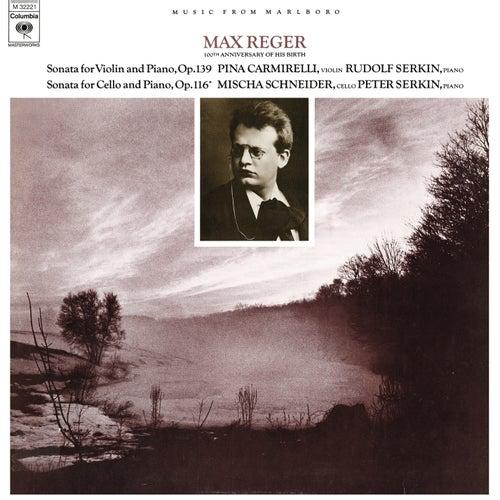 Reger: Violin Sonata No. 9, Op. 139 & Cello Sonata No. 4, Op. 116 de Rudolf Serkin