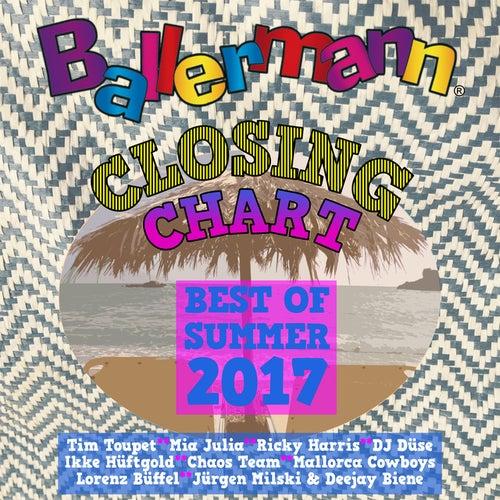 Ballermann Closing Charts - Best of Summer 2017 von Various Artists