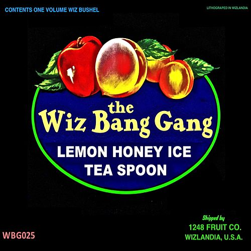 Lemon Honey Ice Tea Spoon de The Wiz Bang Gang