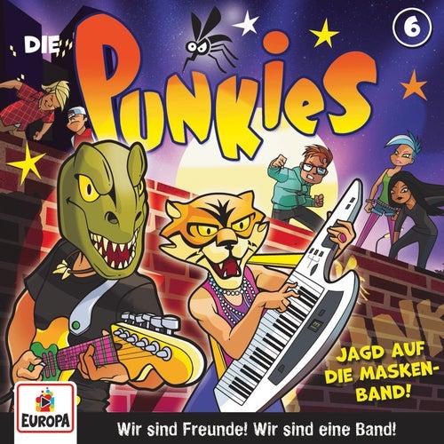006/Die Jagd nach der Masken-Band von Die Punkies
