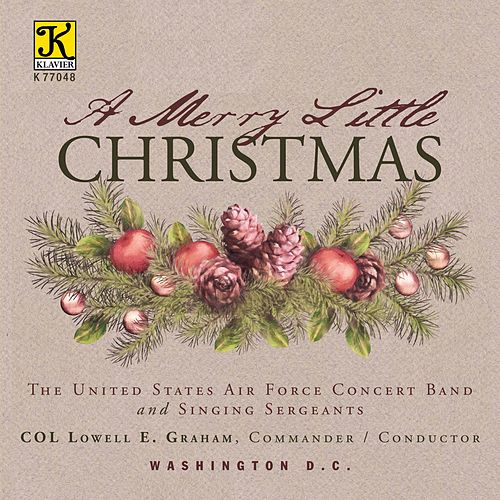 A Merry Little Christmas de United States Air Force Concert Band