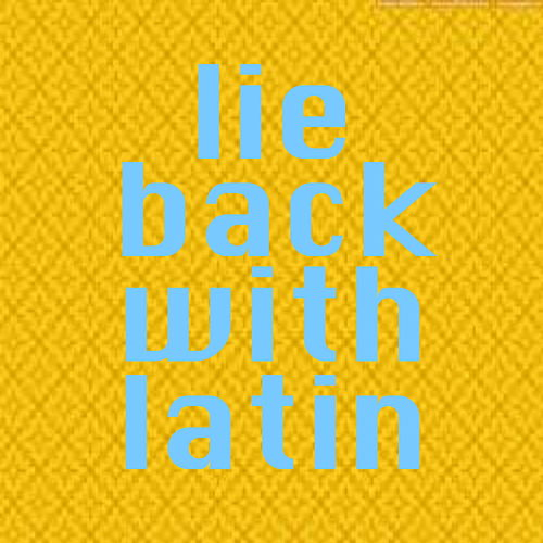 Lie Back With Latin de Various Artists