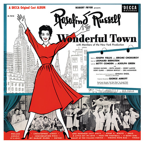 Wonderful Town de Leonard Bernstein / New York Philharmonic